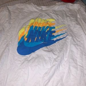 Nike logo tee NWOT cotton
